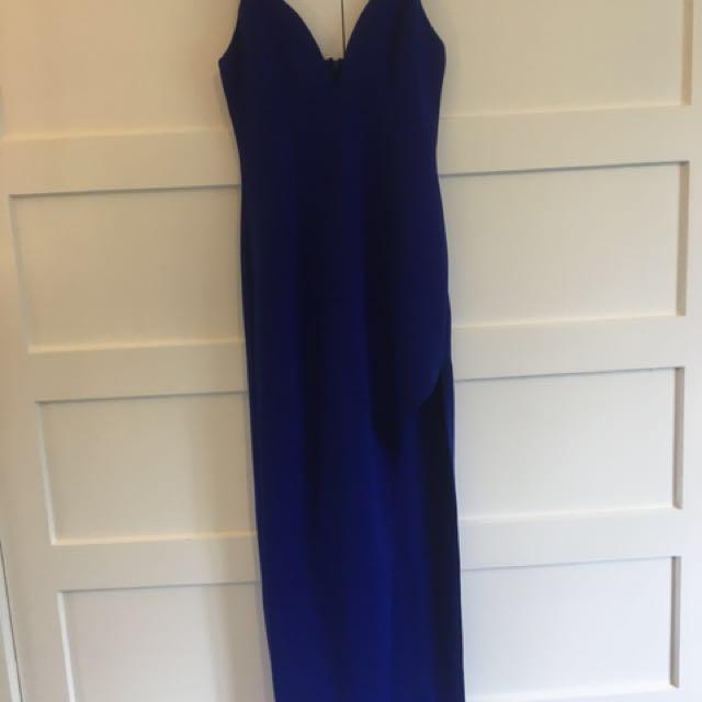 Colbalt blue maxi dress