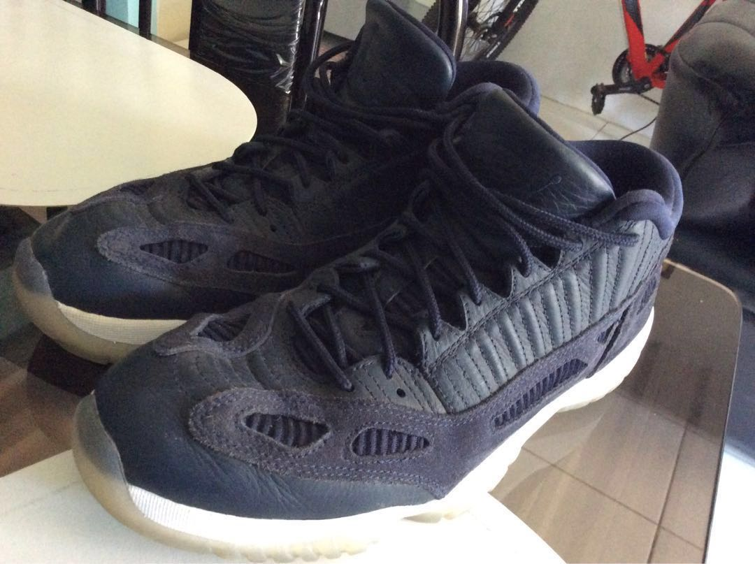 aea9c9ccb3f For Trade / Sell Air Jordan 11 Retro Low IE Obsidian Blue, Men's Fashion,  Footwear, Sneakers on Carousell