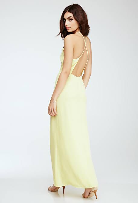 Forever 21 Backless Gown