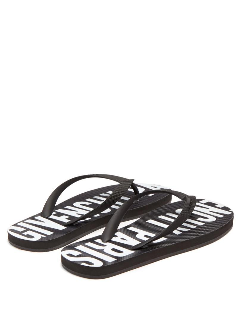 879ce80247a8 GIVENCHY Paris Flip Flops   Slippers