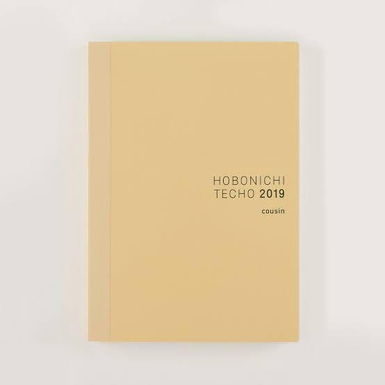 Hobonichi Techo Cousin Book (Japanese/A5/Jan 2019 Start/Monday Start)