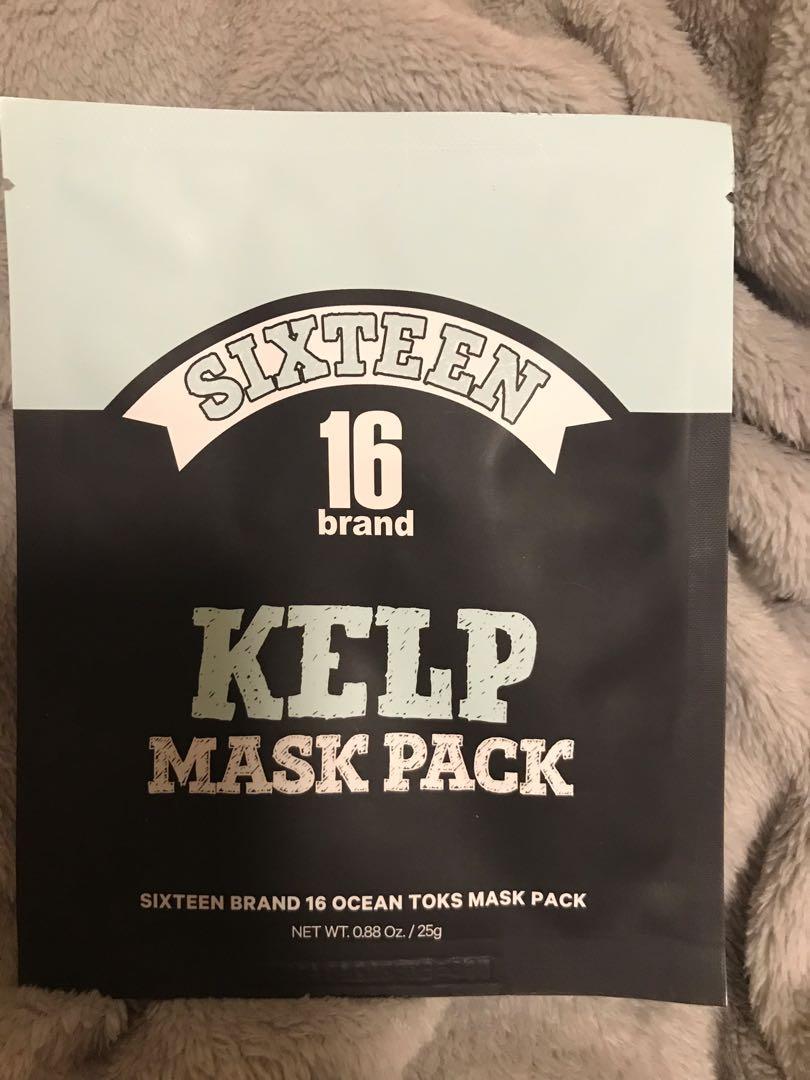 Korean Kelp Mask