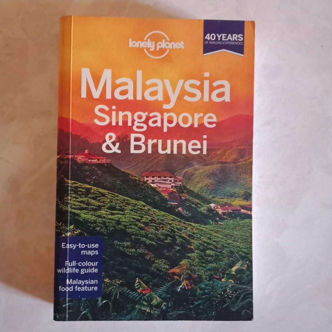 Lonely Planet Malaysia, Singapore & Brunei Travel Book
