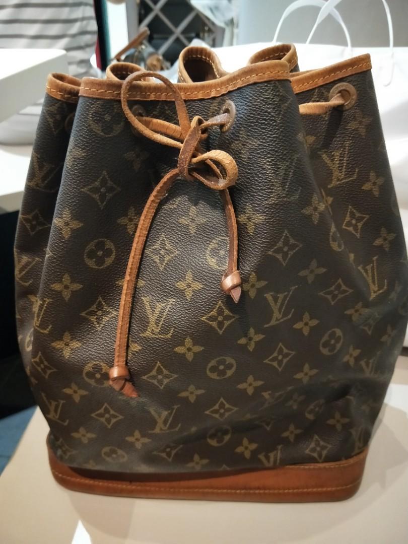 e17a46dfb0b9 💯Authentic Louis Vuitton LV Vintage Noe Monogram Bucket Bag Large ...