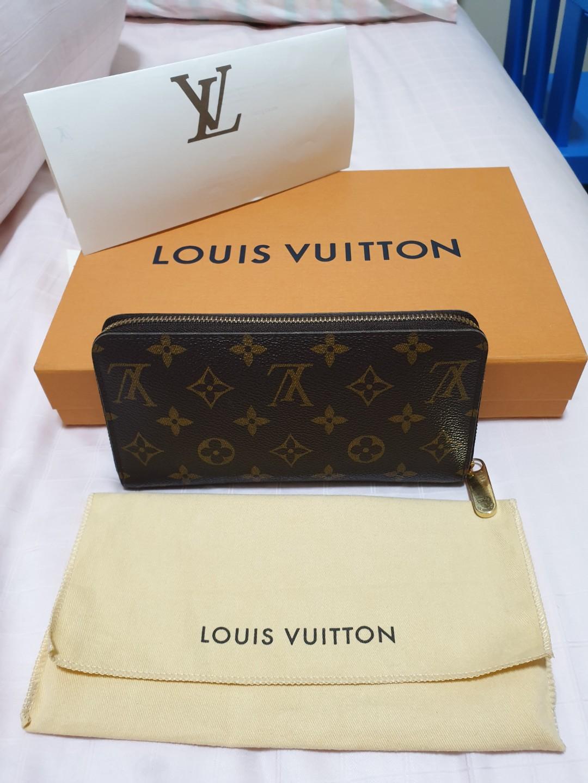 eda2bfe8aaf9 Louis Vuitton Zippy Wallet NM Monogram