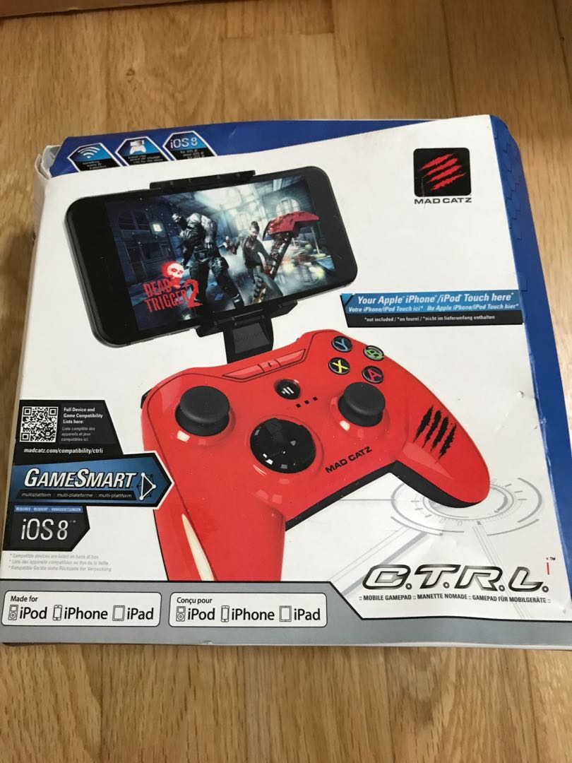 Mad Catz Mobile Gamepad Toys Games Video Gaming Gaming
