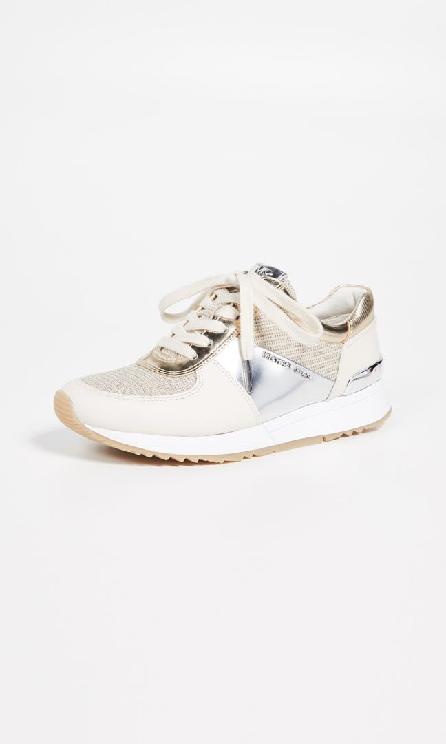 098b0fd86bdb2 Michael Kors White Gold Trainers (Sale)