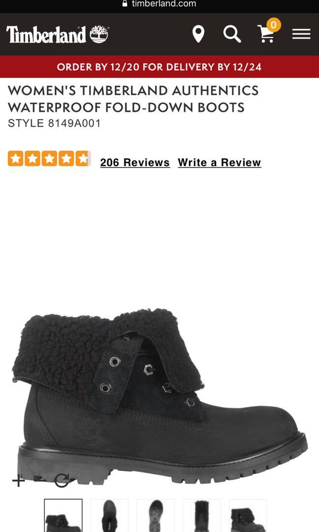 NEW BLACK TIMBERLANDS