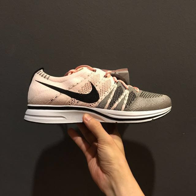14803d5f2d7e8 Nike Flyknit Trainer Sunset Tint Pink