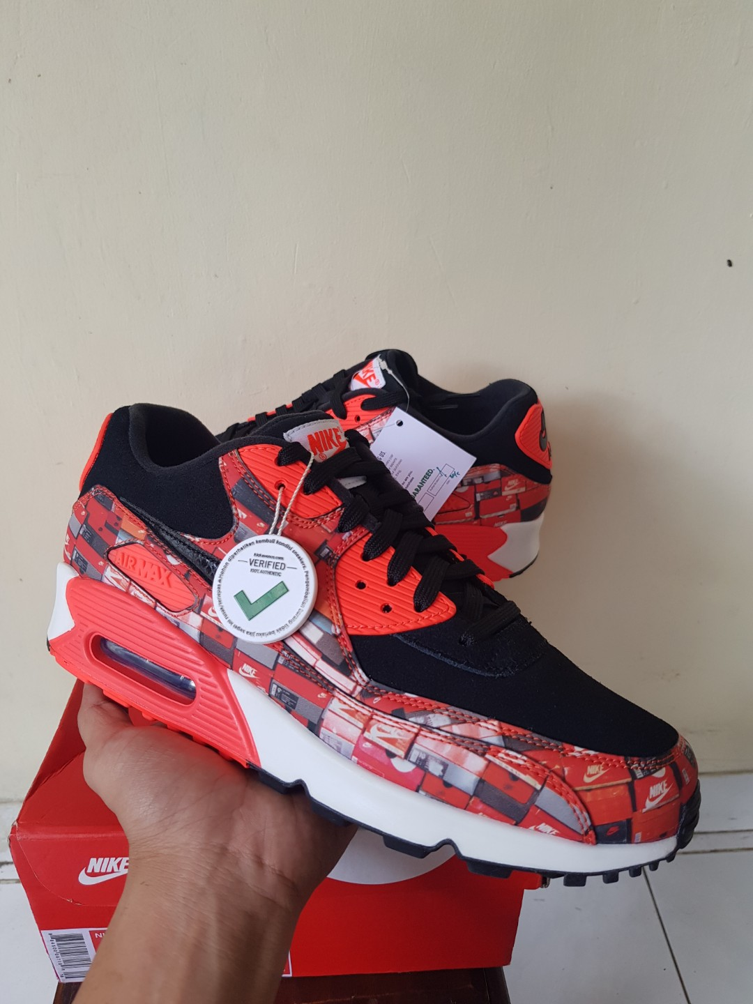 459450dcb Original Nike Air Max 90 Atmos We Love Nike