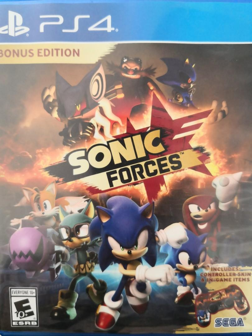 PS4 SONIC FORCES (bonus edition), Toys & Games, Video Gaming