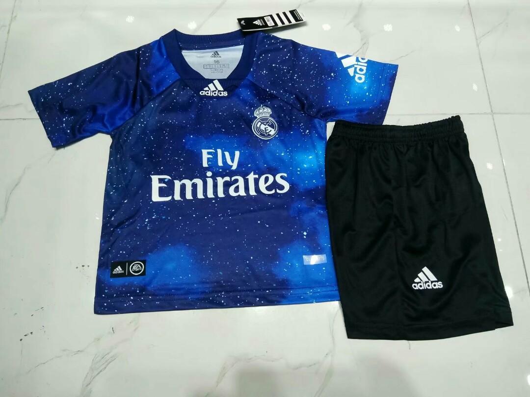 a3e2cb457 Real Madrid 18-19 X EA Sports Kids Kit