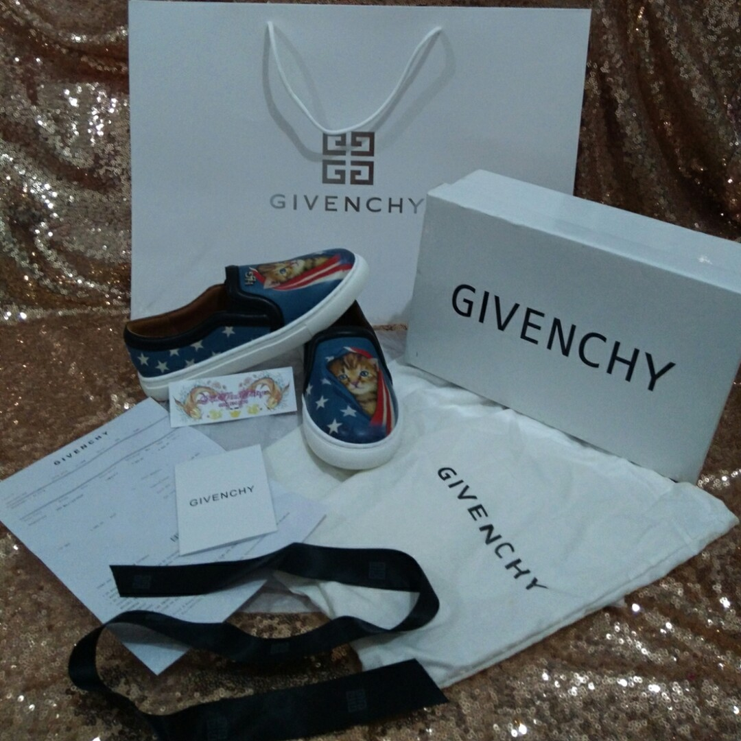 1453686f8490 Complete Size 31 Givenchy Cat Shoes Givenchy Shoes Kids Givenchy Kids  Loafers HDG Shoes HDG Kids Shoes Christmas Gift Kids OOTD