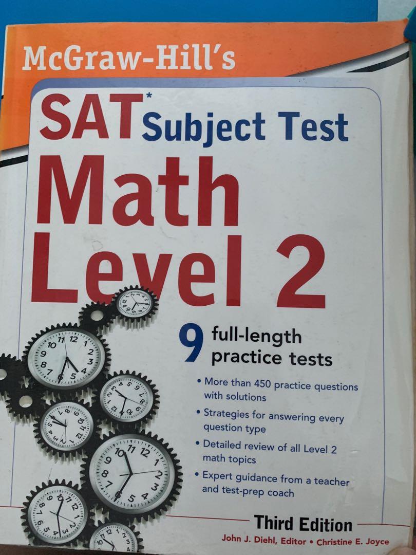 SAT Subject Test Math Level 2 McGraw-Hill's