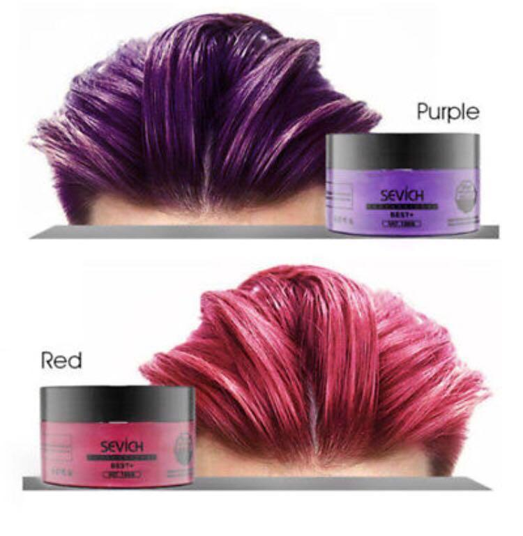 Temporary Hair Color Wax(Sevich)
