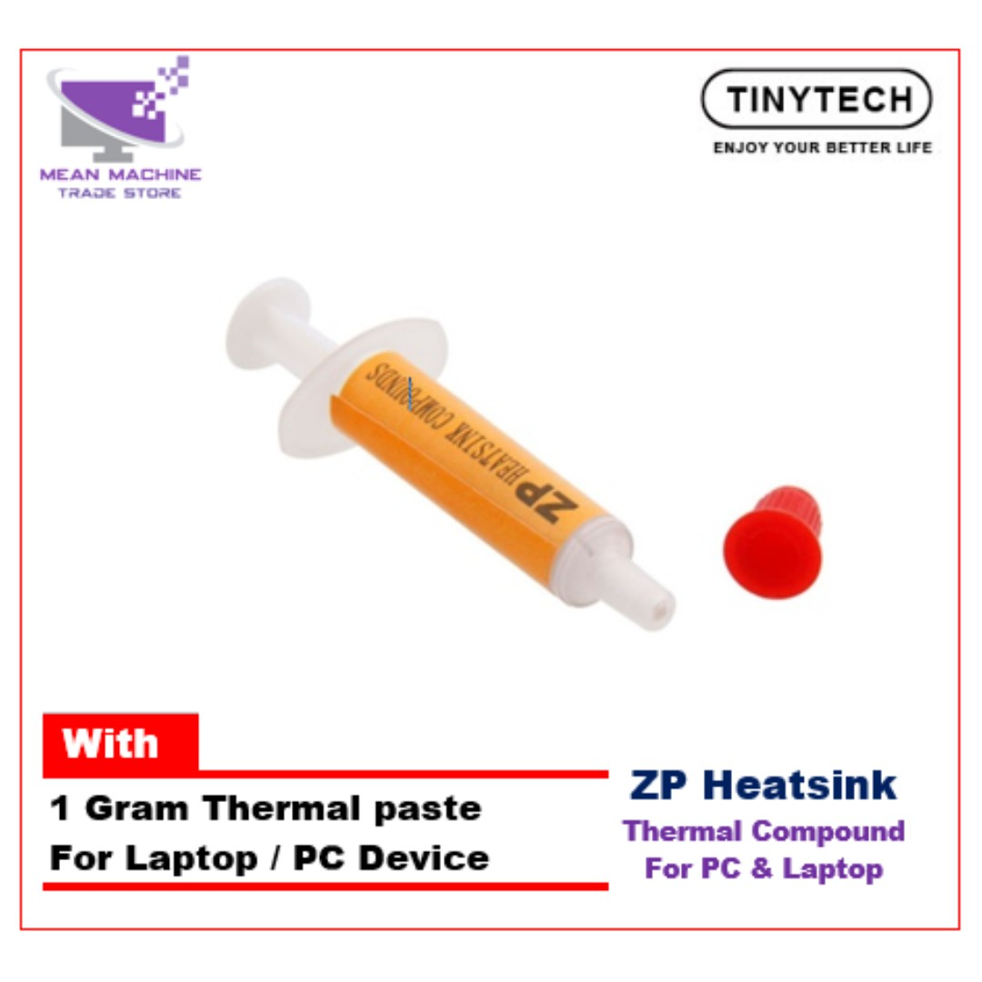 Tinytech Thermal Paste Thermal Compound Grease 1 Gram ( For Laptop & PC  Device)