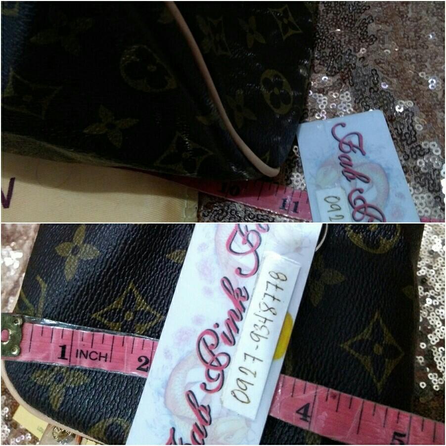 With Serial LV Kikay Bag LV Toiletry Bag LV Monogram, Women s ... ed6bb9b7c4