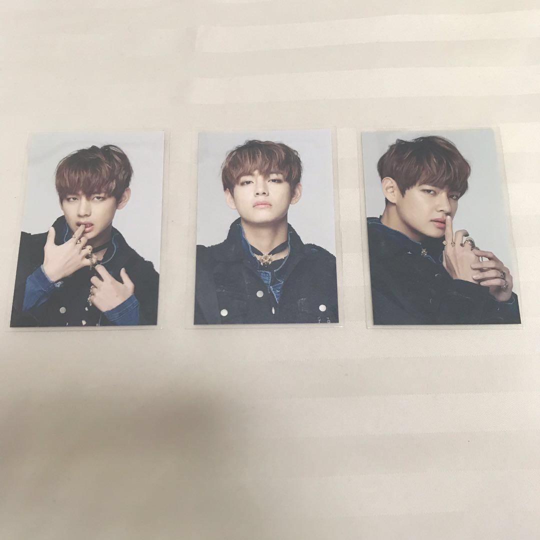 WTS/WTT BTS Taehyung/V Epilogue On Stage Mini Photocards