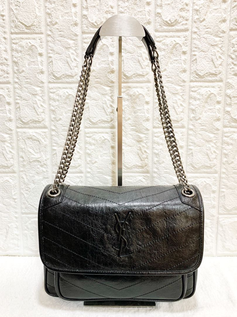 YSL niki chain bag (can be used as bodybag also) 685884d4c1bda