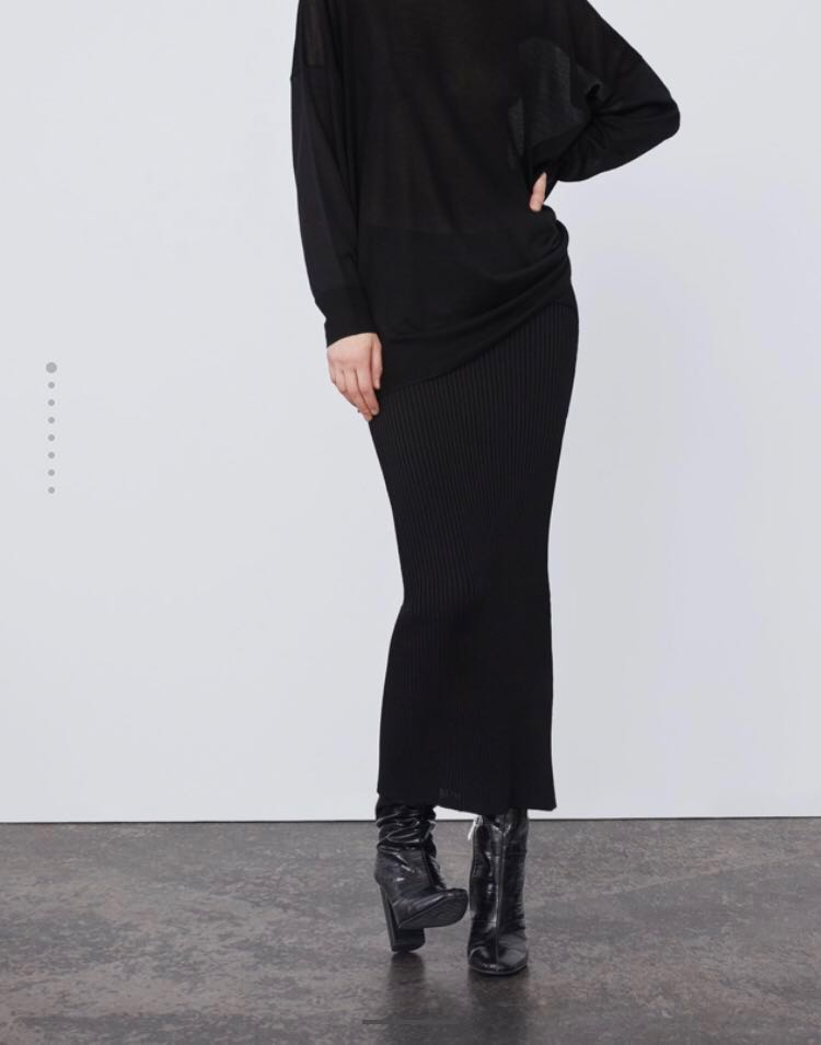 ed64235690 Zara Trafaluc Ribbed Pencil Skirt Size S, Women's Fashion, Clothes, Dresses  & Skirts on Carousell