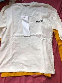 Unbreakable sweater 衫 size s 有白色 如聯合其他unbreakable 產品購買有優惠