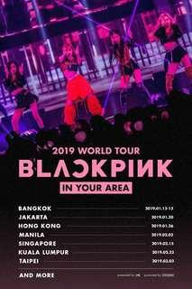 WTS - BLACKPINK 2019 WORLD TOUR [IN YOUR AREA] SINGAPORE