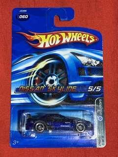 Hotwheels Nissan Skyline R32 Dropstars Series