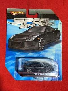 Hotwheels Speed Machines Nissan Skyline GT- R 35