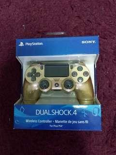PS4 DualShock 4 Controller Gold Colour Version 2 (100% Brand New And Authentic From Sony)