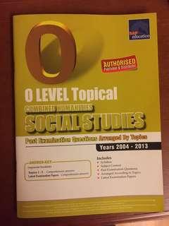 O Level Social Studies Past Year Papers