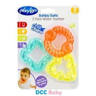Playgro Bumpy Gums 3Pk Water Teethers