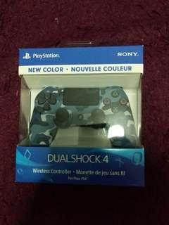 PS4 DualShock 4 Controller Camo Blue Version 2 ( 100% Brand New And Authentic From Sony)