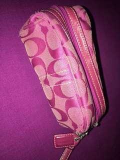 Pink Coach wrislet