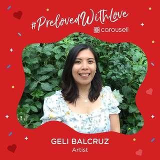 Geli's Artsy #PrelovedwithLove Box