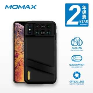 Momax X-Lens Case: 6合1鏡頭組合保護殼 (for iPhone XS/X)
