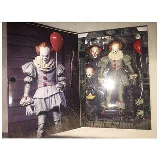 IT NECA PENNYWISE CLOWN