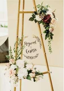 🚚 Wedding Signage / Birthday Signage customisation