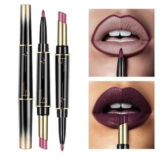 Pudaier 2 in 1 Lipstick and Lip Liner