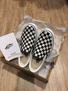 🚚 🇯🇵日本百貨櫃購回✨正品❗️近全新二手 黑白格 懶人鞋✔️