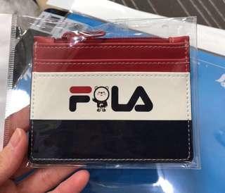 Fila x wonnie card holder