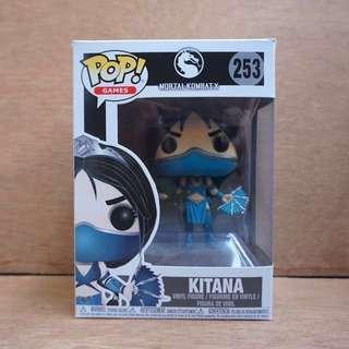 "Funko Pop Original - KITANA ""Mortal Kombat"""