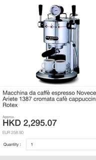 意大利進口咖啡機