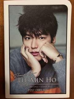kpop Lee Minho postcard set