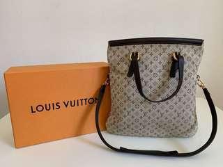 Authentic Louis Vuitton Francoise Mini Lin Shoulder Bag