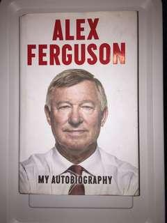 Hardcover : My Autobiography by Alex Ferguson 費格遜自傳