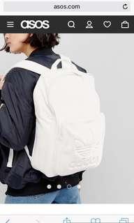 Adidas original cream backpack