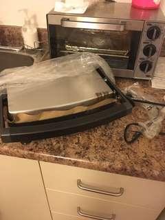 Brand new panini grill