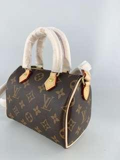 BARU (LV MICRO SPEEDY MONOGRAM WITH LONG STRAP)
