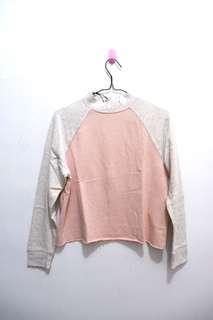 H&M Top Pink Grey   baju h&m original baju h&m asli atasan cewek h&m