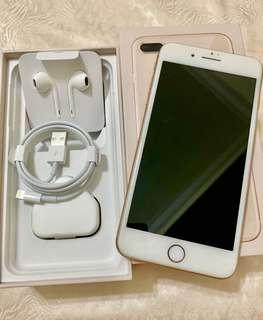 iPhone 8 Plus Gold 256GB with Brand New Full Accessories